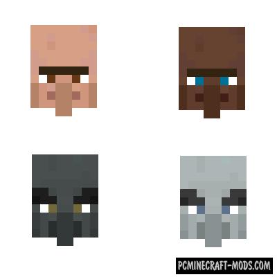 NPC Variety Mod For Minecraft 1.17.1, 1.16.5, 1.14.2