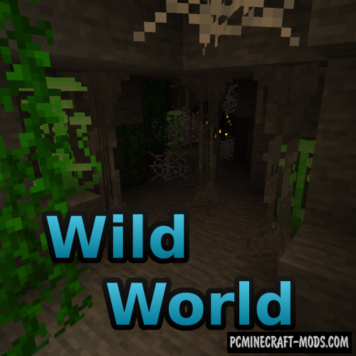 Wild World - Plants Decor Mod For Minecraft 1.16.5, 1.15.2