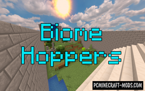 Biome Hoppers Map For Minecraft