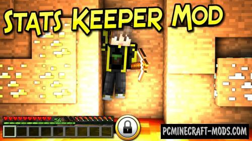 Stats Keeper - Tweak Mod For Minecraft 1.16.3, 1.15.2, 1.14.4