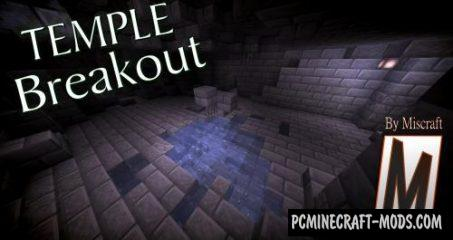 Temple Breakout Map For Minecraft