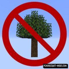 Trees Do Not Float - Tweak Mod For MC 1.16.5, 1.16.4