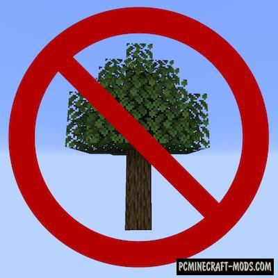 Trees Do Not Float - Tweak Mod For MC 1.16.5, 1.16.4