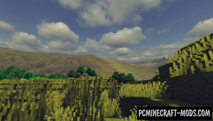 Manchurian Grassland Realistic Sky Resource Pack For Minecraft 1.14.2