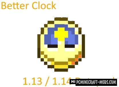 Better Clock Data Pack For Minecraft 1.14.2