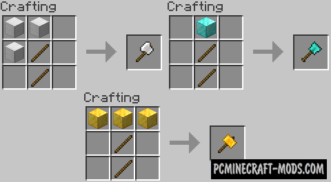 Practical Tools Mod For Minecraft 1.16.5, 1.15.2, 1.14.4