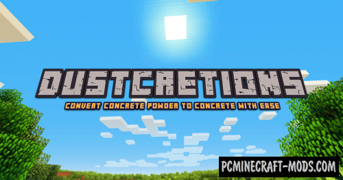 Dustcretions Data Pack For Minecraft 1.14.2