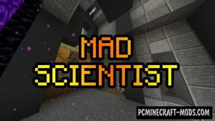 Mad Scientist Data Pack For Minecraft 1.14.2, 1.14