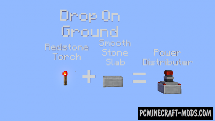 Mctricity Data Pack For Minecraft 1.14.2, 1.14