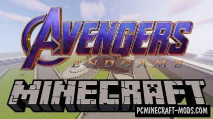 Avengers End Game Base Map For Minecraft