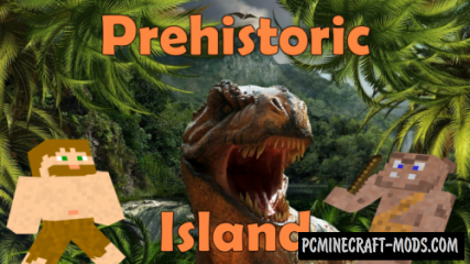 Prehistoric Island Map For Minecraft