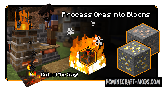 Pyrotech - New Blocks Mod For Minecraft 1.12.2