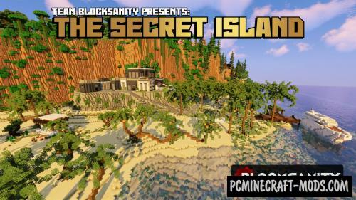 The Secret Island Map For Minecraft