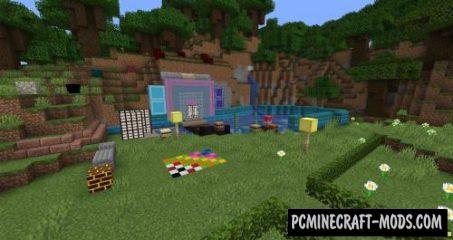 Blockus - Decorative Mod For Minecraft 1.17.1, 1.16.5, 1.16.4