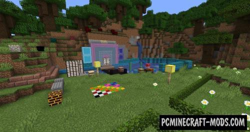 Blockus - Decorative Mod For Minecraft 1.17, 1.16.5, 1.16.4