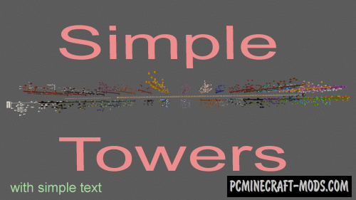 Simple Towers Map For Minecraft