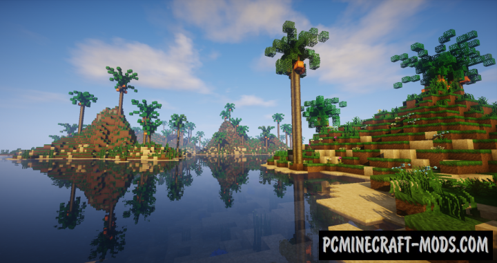 Paradise Islands Map For Minecraft