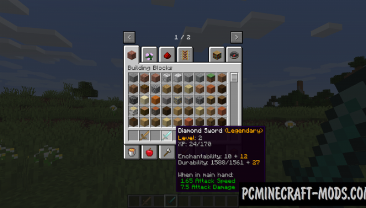 Weapon Craftery Mod For Minecraft 1.14.4