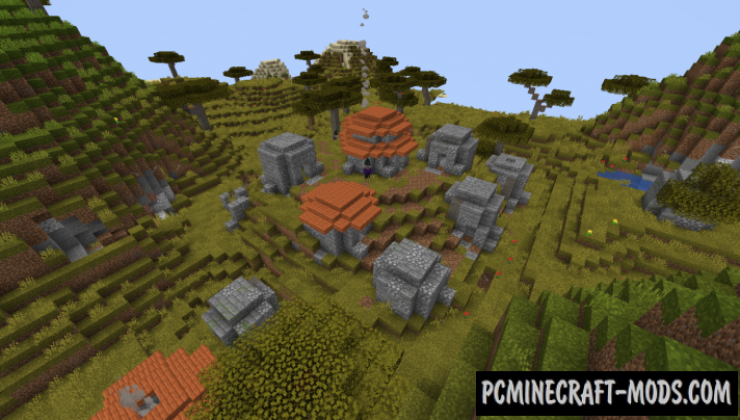 Biome Specific Pillager Outposts Data Pack For Minecraft 1.14.3, 1.14