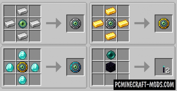 Ender Magnet - Mechanic Mod For Minecraft 1.15.2, 1.14.4