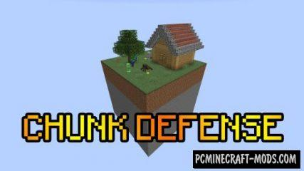 Chunk Defense Map For Minecraft