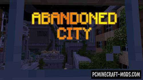 Abandoned City Map For Minecraft
