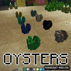 Oysters - New Plants Mod For Minecraft 1.16.5, 1.15.2, 1.14.4