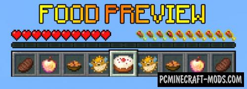 Food Preview Data Pack For Minecraft 1.14.4, 1.14