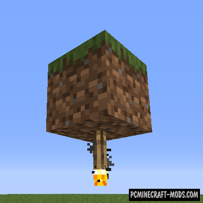 Ceiling Torch Mod For Minecraft 1.14.3, 1.12.2