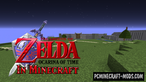 The Legend of Zelda Ocarina of Time Map For Minecraft 1.14.4, 1.14.3 on
