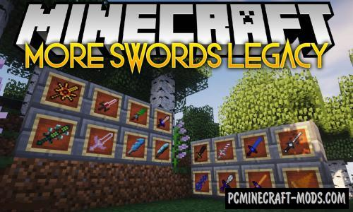 More Swords Legacy Mod For Minecraft 1.12.2