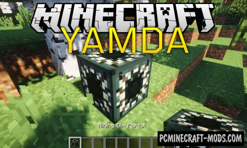 YAMDA Mod For Minecraft 1.14.4, 1.12.2