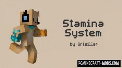 Grizillar's Stamina Data Pack For Minecraft 1.14.3, 1.14
