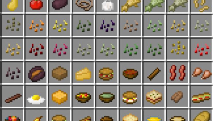 Simple Farming - Food Mod For Minecraft 1.16.5, 1.14.4