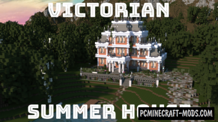 Summer House Map For Minecraft