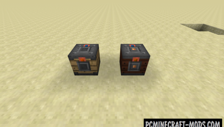 Transport - New Redstone Blocks Mod For Minecraft 1.15.2