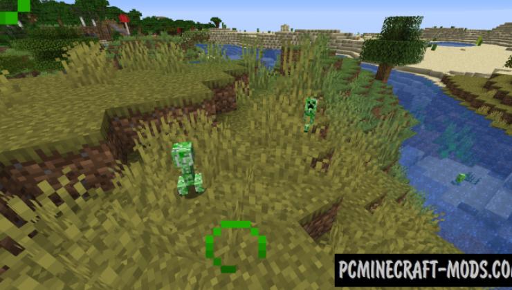 Creeper Spores - Survival Hardcore Mod For MC 1.16.5, 1.15.2