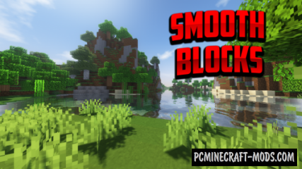 Smooth Blocks 128x Resource Pack For Minecraft 1.15, 1.14