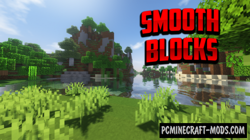 Smooth Blocks 128x Resource Pack For MC 1.16.5, 1.16.4