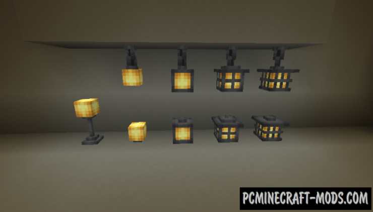 Extended Lights - Decoration Mod For Minecraft 1.16.5, 1.14.4