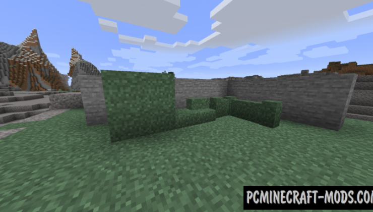 Turf - New Decorative Blocks Mod For MC 1.16.4, 1.15.2, 1.14.4