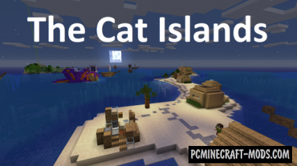 The Cat Islands Map For Minecraft