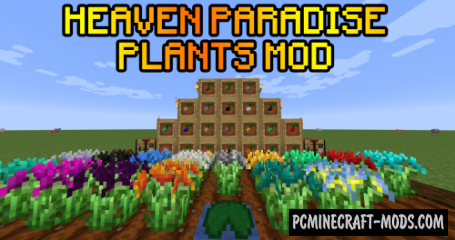 Heaven Paradise Plants - Food ores Mod For Minecraft 1.14.4
