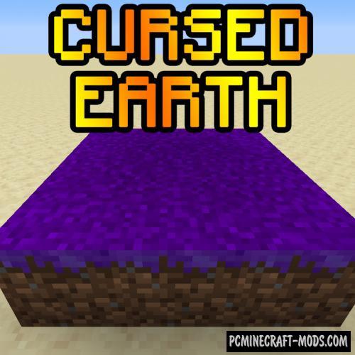 Cursed Earth - Farm Mod For Minecraft 1.16.4, 1.15.2, 1.14.4
