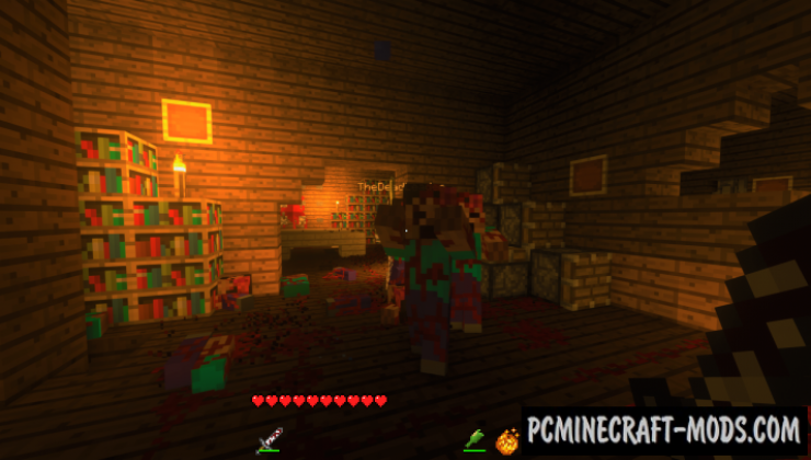Dyemona 2: Labin Story Map For Minecraft