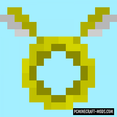 Angel Ring - New Item Mod For Minecraft 1.16.5, 1.16.4