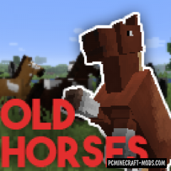 Old Horses 16x16 Resource Pack For Minecraft 1.14.4, 1.13.2
