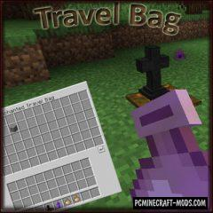 Travel Bag - Tool Mod For Minecraft 1.15.2, 1.14.4
