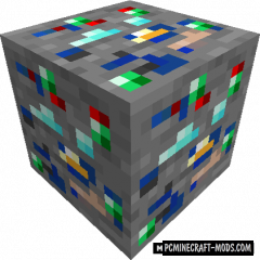 Lucky Ores - New Ore Blocks Mod For Minecraft 1.15.2, 1.14.4