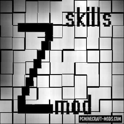 ZmodSkills - Farming Classes GUI Mod For MС 1.16.5, 1.15.2
